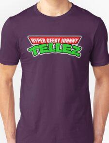 Hyper Geeky Johnny Tellez logo T-Shirt