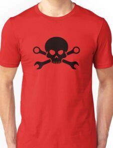 Skull 'n' Tools - Screw Pirate 1 (black) Unisex T-Shirt
