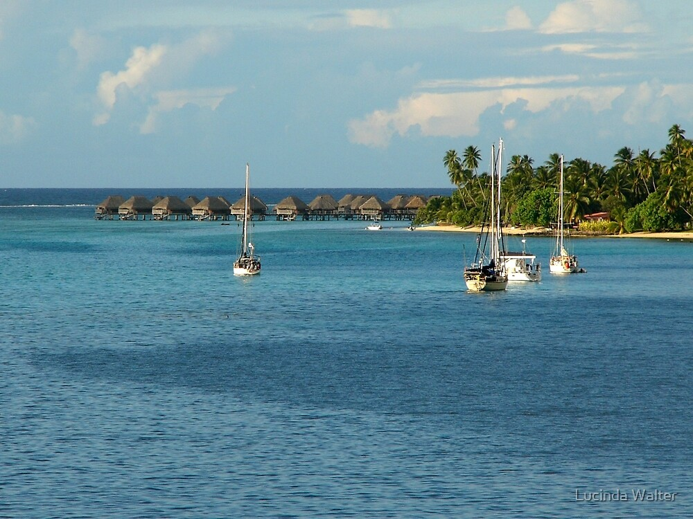 Bungalows - Boats - Beauty by Lucinda Walter