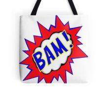 BAM!  Comic Book Illustration Tote Bag
