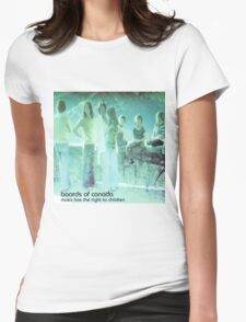 boards of canada music has the right to children Womens Fitted T-Shirt