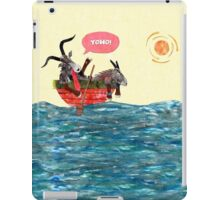 Goats in a Boat iPad Case/Skin