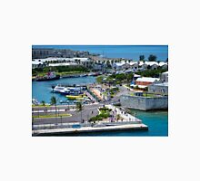 View From the Ship at Kings Wharf Bermuda Unisex T-Shirt