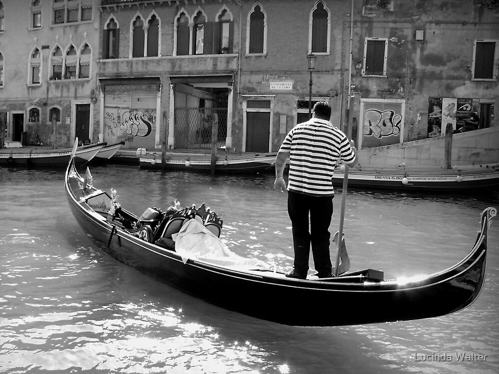 The Gondolier by Lucinda Walter