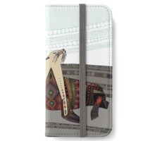 sea lion mono iPhone Wallet/Case/Skin