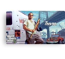 gta 5 trevor Canvas Print
