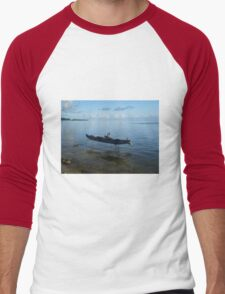 Boat on Stilts Men's Baseball ¾ T-Shirt