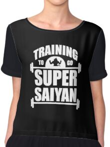 training to go super saiyan Chiffon Top