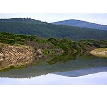 SCENES & SCENERY ~ GREEN ~ Reflections by tasmanianartist Photographic Print