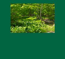 Green Landscape of Summer Foliage T-Shirt
