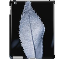 B/W Backlit Leaf iPad Case/Skin