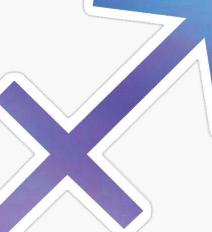 Sagittarius-tiedye Sticker