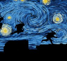 Starry Fight Sticker