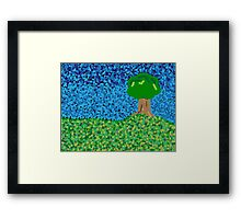 Dot Tree Framed Print