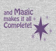 Quotes and quips - magic makes it all complete Baby Tee