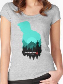 Uncharted 4: A Thief's End Women's Fitted Scoop T-Shirt