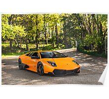 Lamborghini Murcielago LP670-4 SV Poster
