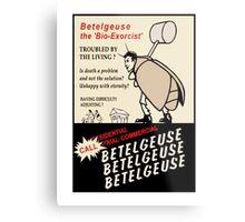 Beetlejuice Advertisement Metal Print