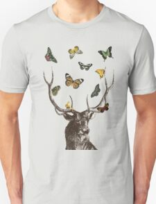 The Stag & Butterflies Unisex T-Shirt