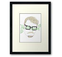 Hank Green Framed Print