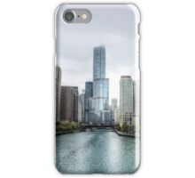 Trump Tower & Chicago River - Chicago iPhone Case/Skin