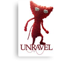 Unravel Canvas Print