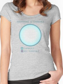 Everything is chemicals Women's Fitted Scoop T-Shirt