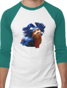 Ello Worm Painting - Labyrinth Movie  Men's Baseball ¾ T-Shirt