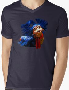Ello Worm Painting - Labyrinth Movie  Mens V-Neck T-Shirt