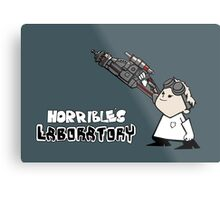 Horrible's Laboratory Metal Print