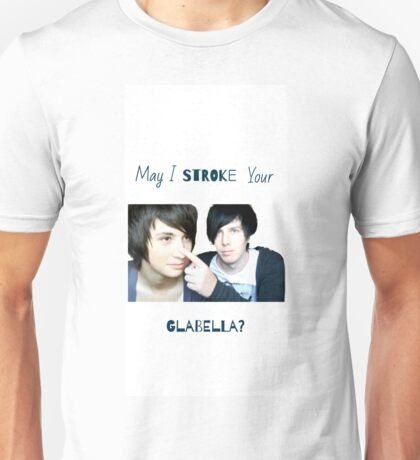 May I stroke your glabella? Unisex T-Shirt