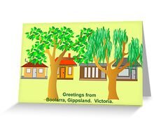 Boolarra Card Greeting Card