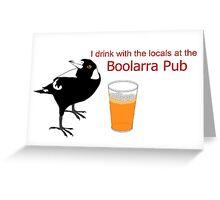 Boolarra Pub Card Greeting Card