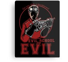 Dr. Horrible's Evil School of Evil Metal Print