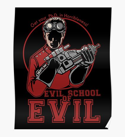 Dr. Horrible's Evil School of Evil Poster