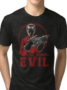 Dr. Horrible's Evil School of Evil Tri-blend T-Shirt