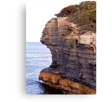 TASMAN PENINSULA ~ Nature's Sculpture by tasmanianartist Canvas Print