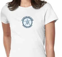 Naples Beach - Florida. Womens Fitted T-Shirt