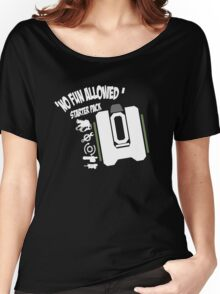 Bastion No Fun Allowed Women's Relaxed Fit T-Shirt