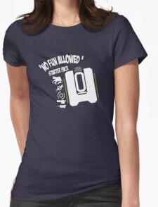 Bastion No Fun Allowed Womens Fitted T-Shirt