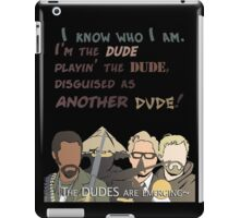 Quotes and quips - the dudes are emerging~ iPad Case/Skin