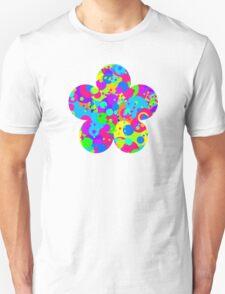Crazy Colorful Circles Pattern Unisex T-Shirt