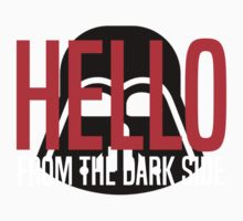 Hello From The Dark Side One Piece - Short Sleeve