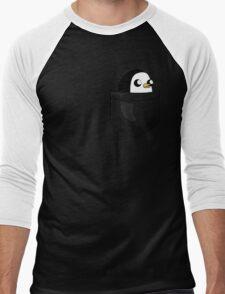 There's an evil penguin in my pocket! Men's Baseball ¾ T-Shirt