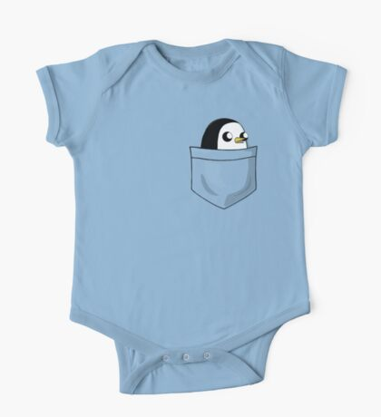 There's an evil penguin in my pocket! One Piece - Short Sleeve
