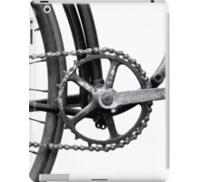 Old Bicycle Pedal Sprocket and Chain iPad Case/Skin