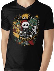 Jack's Christmas Plan Mens V-Neck T-Shirt