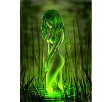 Swamp Mermaid Photographic Print