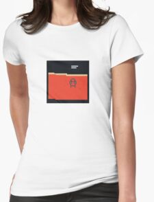 Amnesiac Pixel Art Womens Fitted T-Shirt