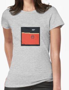 Amnesiac Pixel Art Womens Fitted T-Shirt